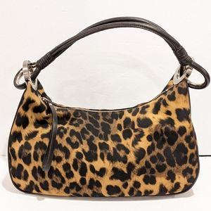Nine West animal print shoulder bag